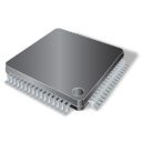 128x128px size png icon of SMD 64 pin