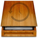 128x128px size png icon of TimeMachineWood