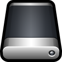 128x128px size png icon of Device External Drive Generic