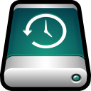 128x128px size png icon of Device External Drive Time Machine