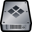 128x128px size png icon of Device Hard Drive Bootcamp
