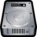 128x128px size png icon of Device Hard Drive Mac