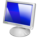 128x128px size png icon of Monitor