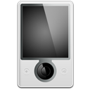 128x128px size png icon of Microsoft Zune Front