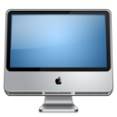 128x128px size png icon of IMac alt