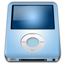128x128px size png icon of IPod Nano Baby Blue alt
