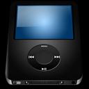 128x128px size png icon of IPod Nano Black alt