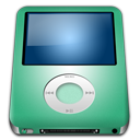 128x128px size png icon of IPod Nano Lime alt