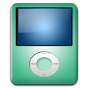 128x128px size png icon of IPod Nano Lime