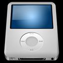 128x128px size png icon of IPod Nano Silver alt