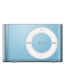 128x128px size png icon of IPod Shuffle Baby Blue