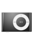 128x128px size png icon of IPod Shuffle Black
