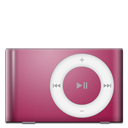 128x128px size png icon of IPod Shuffle Red