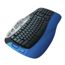 128x128px size png icon of Keyboard Blue