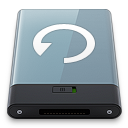 128x128px size png icon of Graphite Backup W