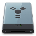 128x128px size png icon of Graphite Firewire B