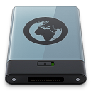 128x128px size png icon of Graphite Server B