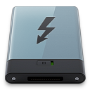 Graphite Thunderbolt B Icon