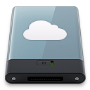 128x128px size png icon of Graphite iDisk W
