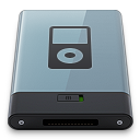 128x128px size png icon of Graphite iPod B
