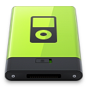 128x128px size png icon of Green iPod