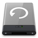 128x128px size png icon of grey backup w