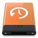 orange time machine w Icon