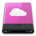 pink idisk w Icon
