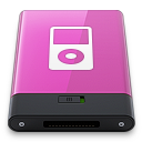 pink ipod w Icon