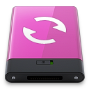 pink sync w Icon