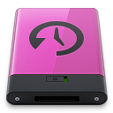 pink time machine b Icon