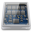 128x128px size png icon of solid state drive