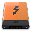 128x128px size png icon of thunderbolt