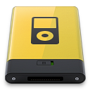 yellow ipod Icon