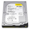 128x128px size png icon of Internal Drive 250GB