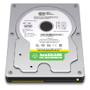 128x128px size png icon of Internal Drive 720GB