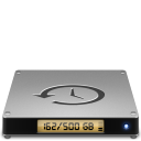 128x128px size png icon of Device timemachine