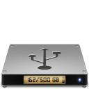 128x128px size png icon of Device usbhd