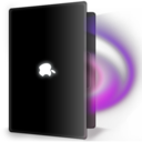 128x128px size png icon of MacbookBlack Magic