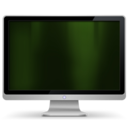 My Computer dark green Icon