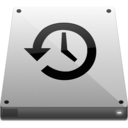 128x128px size png icon of timemachine
