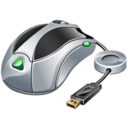 128x128px size png icon of Usb mouse