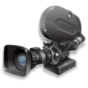 128x128px size png icon of film camera 35mm