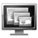 128x128px size png icon of resolution inactive