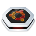 128x128px size png icon of Drive Ubuntu