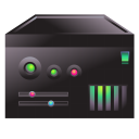 128x128px size png icon of server carbon