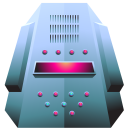 128x128px size png icon of server platinum