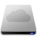 128x128px size png icon of iDisk   Aluminum