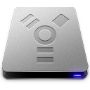 128x128px size png icon of Firewire HD Drive