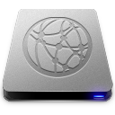 128x128px size png icon of Server Drive